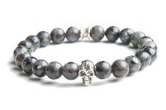 Skull Grey- Gemini Bracelets