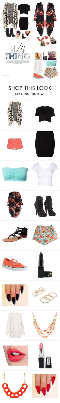"""""""WILD THANG"""" by babiegurlduce ❤ liked on Polyvore featuring Être Cécile, Abercrombie & Fitch, ONLY, Jane Norman, Fever Fish, Gucci, Dollhouse, MINKPINK, Vans and Barry M"""