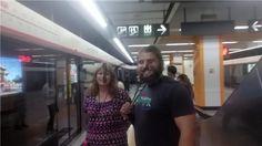 11:40 am Took the subway to China Medical University.