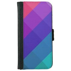 Cubical Colors iPhone 6/6s Wallet Case  $24.95  by ParazitGoodz  - cyo customize personalize diy idea
