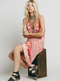 Free People Francoise Exclusive Empire Waist Maxi Dress, $205.00