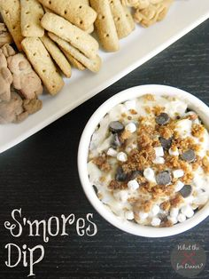 S'mores Dip from @Jaime @ Mom's Test Kitchen