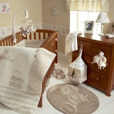 Baby Bedding Set - 4 Piece - Once Upon a Time at Mamas & Papas  Love this but it's way too expensive !!! Especially the rug!!!