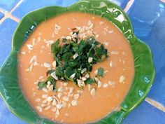 peanut soup by girlsgonechild. You can use pumpkin or butternut squash ...
