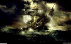 Pirates Of The Caribbean Black Pearl Wallpaper Desktop #ajl