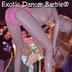 exotic dancer Barbie