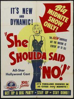 20 cartazes de filmes B dos anos 1940