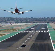 Short Final - San Diego, CA by tossmeanote, via Flickr