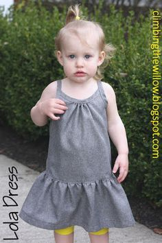 Climbing the Willow: lola dress free pattern and tutorial