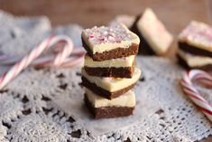Raw Peppermint Brownies