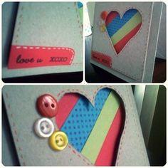 Tarjeta amor y amistad. Tamaño: 10 x 10.5 cm. Precio: $8.000 colombianos. haz tu pedido enviando un correo a dannyfs9@ gmail.com