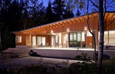 72 Modern Cabin Retreats - From Modern Wood Cabin Residences to Glittering Mountain Homes (TOPLIST)