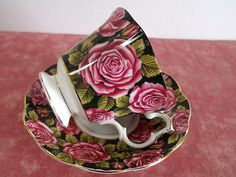 English ' Royal Albert ' Bone China Teacup Saucer 'June' England Chintz | eBay