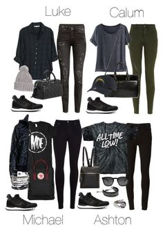 """""""5SOS Styles: NIKE Internationalist Mid Sneakers"""" by fivesecondsofinspiration ❤ liked on Polyvore featuring NIKE, Citizens of Humanity, adidas, Xirena, Wrap, H&M, Paige Denim, Yves Saint Laurent, MANGO and Kara"""