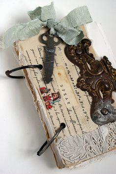 Art journal inspiration: Journal 134 by Rebecca Sower, via Flickr