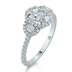 Kwiat Engagement Rings -- pretty! a little too extravagant for me, but if I were to want extravagant at my age, it would look something like this.