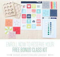 Free bonus class kit! - On The Grid with Marcy Penner