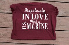 Hopelessly in love with a U.S. Marine by AmyJaneBeauty on Etsy