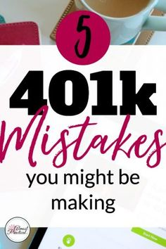 #Ad 401k Tips for Beginners - Are you making these mistakes with your retirement contributions? #BlooomInc #BlooomMy401k
