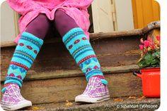 Susannan Työhuone - päiväkirja vanhalta rautatieasemalta: Syksyneulomuksia Leg Warmers, Knits, Glow, Socks, Legs, Knitting, Fashion, Leg Warmers Outfit, Moda