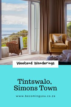 A stunning weekend stay at Tintswalo, Simons Town, Cape Town Best Resorts, Hotels And Resorts, Best Hotels, Boulder Beach, Cosy Corner, Beach Boardwalk, Mansions Homes, Great Hotel, Luxury Accommodation
