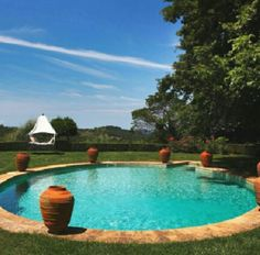 Inviting Inground Pool