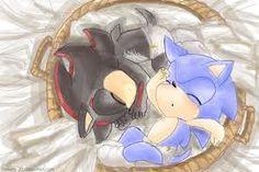Awwwwwwwww, baby Sonic and Shadow! So cuuuuuuuuute!