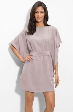 Suzi Chin for Maggy Boutique Tie Waist Silk Dress | Nordstrom