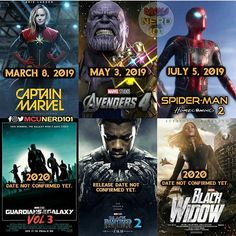 Note that these movies supposedly dont affect any deaths in infinity war - #mcu #blackpanther #spiderman #tomholland #avengersinfinitywar #avengers #gardiansofthegalaxy #tchalla #peterparker #blackwidow #captainmarvel #thanos #captainamerica #wintersoldier #ironman #hulk #marvel #comicbooks