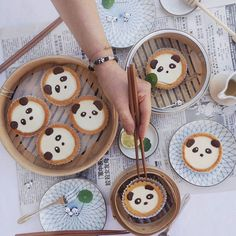 Hehehe coconut panda  tarts!!  They were so cute I couldn't bear to eat them!!  BTW, isn't the panda bracelet super cute aswell? Check them out @iglood to get yours now! Plus, they donate 10% of sales to Pandas International !!  #foodporn #foodpic #iglood #zomato #annachaannntarts #savethepandas #coconut #chocolate #cutefood #panda