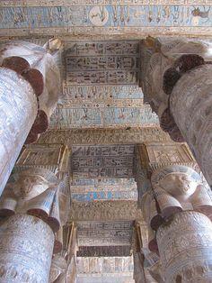 Temple of Hathor, Dendera, Egypt