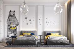 Kids Bedroom Designs, Bedroom Bed Design, Small Room Bedroom, Home Room Design, Kids Room Design, Baby Bedroom, Baby Room Decor, Girls Bedroom, Bedroom Decor