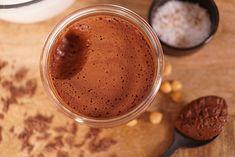 Mousse au chocolat Vegan sans oeufs via @hervecuisine