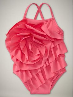 So sad they don't have this in her size!  www.gap.com I love shopping for baby girl swimsuits! more then dresses I think!!