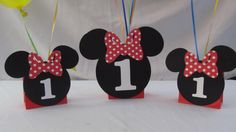 Minnie Mouse Party Balloon Centerpiece by DreamComeTrueParties, $15.00