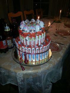 Torte mit Süßigkeiten:-D;-)