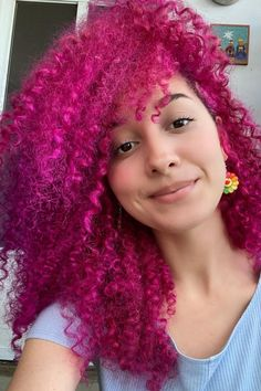 Running to the color cabinet like 🏃♀️🏃♀️🏃♀️ @vibracosmica33 in Virgin Pink 💕 #AFvirginpink Hair Color Pink, Pink Hair, Bright Hair, Free Hair, Pink Aesthetic, Hair Goals, Hair Makeup, Make Up, Running
