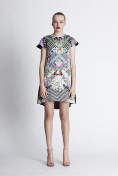 Another Sara Phillips dress. Love the patchwork like design.    Kaleidoscope Undercover Shift Dress