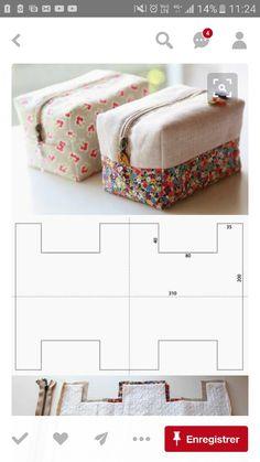 Crochet handbags 634163191266884796 - Ein Kulturbeutel in der richtigen Größe – The DIY Factory, first site col …. La trousse de toilette de la bonne taille – The DIY Factory, premier site col …. Handbag Tutorial, Zipper Pouch Tutorial, Purse Tutorial, Diy Handbag, Diy Bags Patterns, Sewing Patterns, Purse Patterns, Sewing Projects For Beginners, Sewing Tutorials