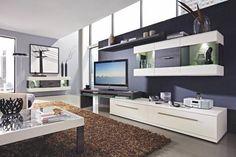 mal ein wenig anders als die normale Wohnwand Flat Screen, Entryway, Furniture, Home Decor, Living Furniture, Dinner Room, Living Room, Homes, Entrance