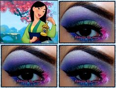Halloween Series: MULAN Inspired http://www.makeupbee.com/look.php?look_id=64127