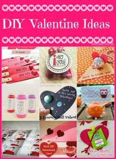 DIY Valentine Ideas #valentinesday
