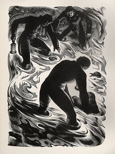"Agnes Miller Parker - Wood Engraving for ""The Return of The Native"" 