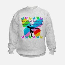GYMNAPersonalized Gymnastics bags and tote to motivate your fabulous Gymnast. http://www.cafepress.com/sportsstar/10114301 #Gymnastics #Gymnast #WomensGymnastics #Gymnastgift #Lovegymnastics #PersonalizedGymnast ST GOALS Sweatshirt
