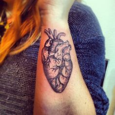 Heart tattoo by Oliver K