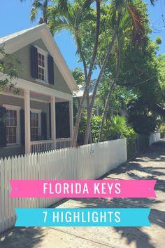 Florida Keys, USA: 7 Dinge, die du auf der Inselkette erleben musst, verrate ich dir im Reiseblog - zu Hotel, Jetski, Dry Tortugas, Old 7 oder dem Turtle Hospital.