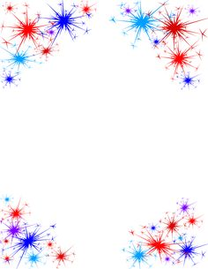 Fireworks Clipart No Background July Background, Fireworks Background, Blue Fireworks, Paper Background, 4th Of July Party, Fourth Of July, Firework Tattoo, Fireworks Clipart, Invitation Background
