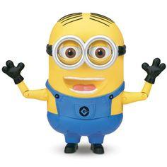 Boneco Interativo - Minion Dave Falador - Meu Malvado Favorito 2 - Toyng @ Ri Happy