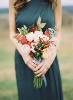 #bouquet  Photography: Elisa Bricker - elisabricker.com  Read More: http://www.stylemepretty.com/2014/03/06/bridesmaids-tea-at-trump-winery/