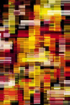 abstract, er is niets in te zien